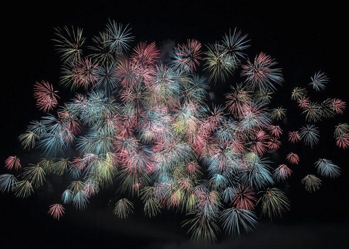 Neujahrsfeuerwerk